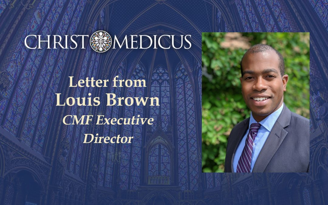 Letter from Louis Brown, CMF Director