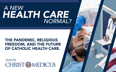 "CMF CURO Director, Jordan Buzza Discusses ""A New Normal?"" Digital Health Care Conference on Catholic Connection"